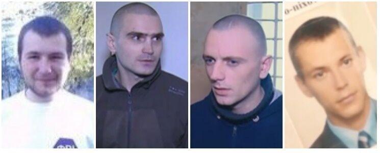 Слева – направо: Владимир Фомичев, Александр Морозов, Иван Ляса, Александр Олейник
