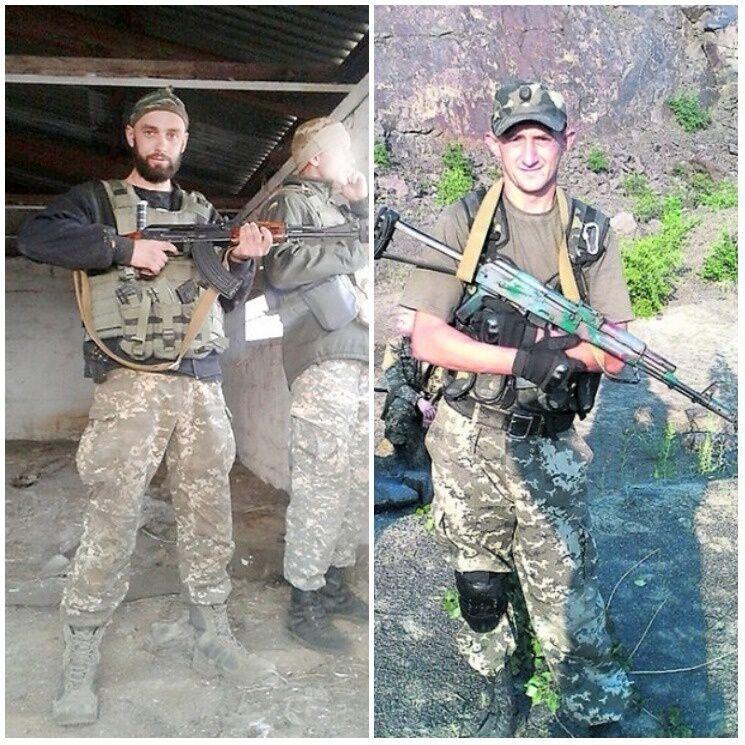 Слева – направо: Николай Иовов, Василий Гулька