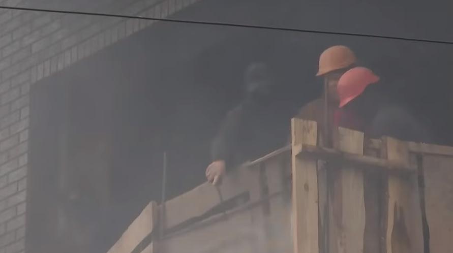 Газ и горящие шины: киевляни восстали против застройщика в элитном районе