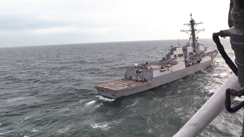 ВМС України провели навчання з есмінцем США: Росії в істериці почала погрожувати