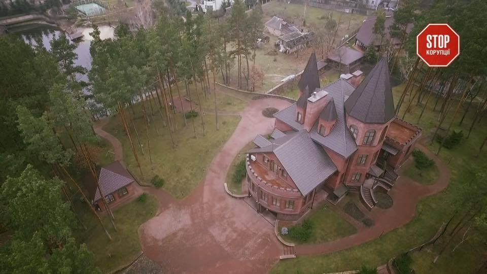 Дворец Вадима Гаевого в Голосеевском лесу