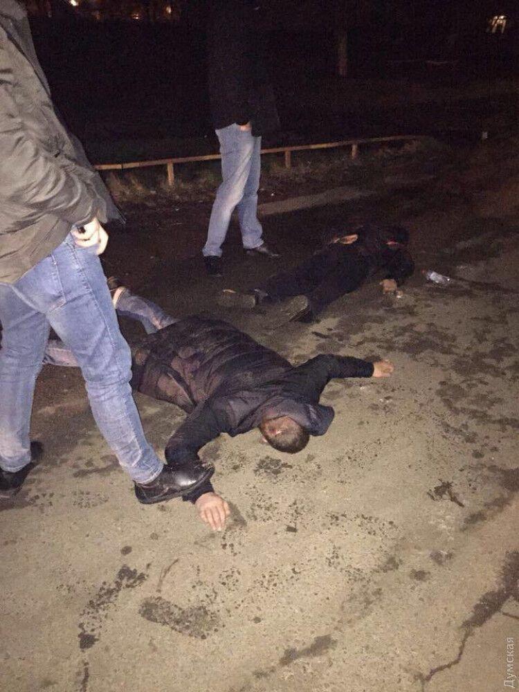 Задержание убийц в Одессе