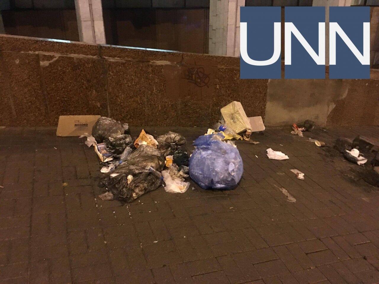 """Бруківка, сміття і барикади: мережу обурили наслідки """"звільнення"""" Саакашвілі"""