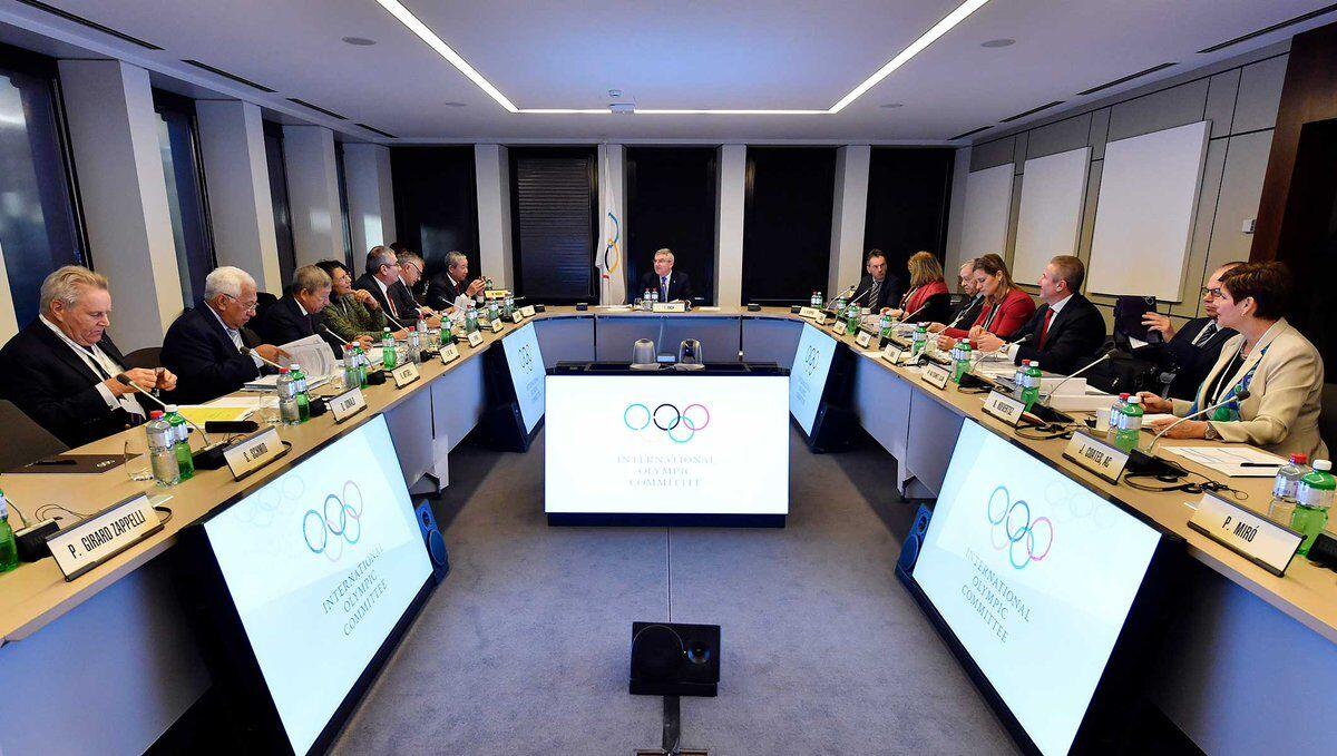 Заседание МОК