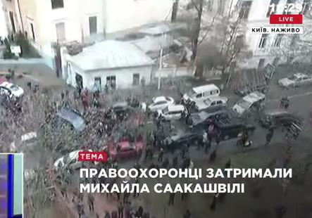 З'явилося відео затримання та вивезення Саакашвілі