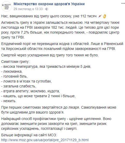 Как уберечься от гриппа этой зимой: советы украинцам
