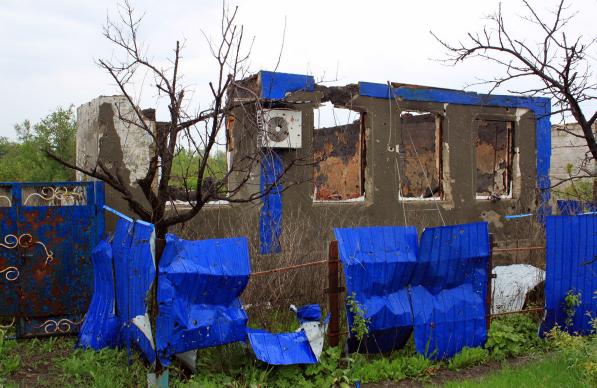 Розліталися на друзки: терористи знищили село на Донеччині