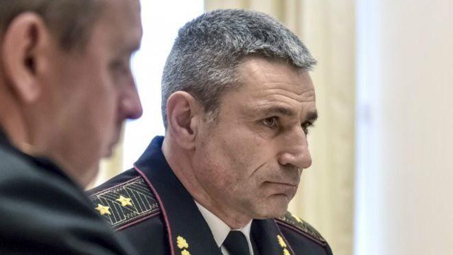 Новий командувач ВМСУ Ігор Воронченко