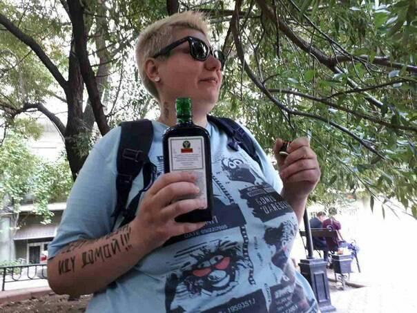 """Голая акция на """"Михомайдане"""": стали известны подробности об активистке Femen"""