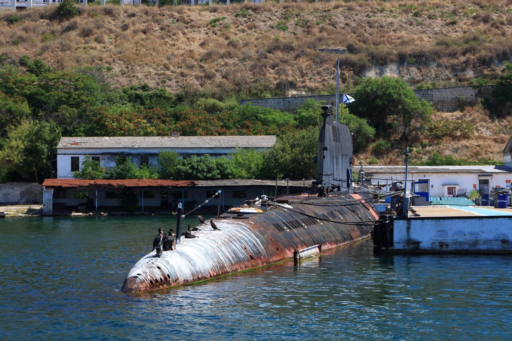 Окупанти знищили єдину субмарину України