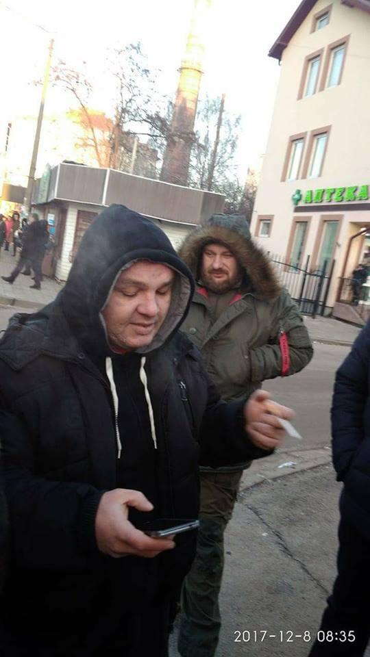 В Івано-Франківську бійці АТО яскраво помстилися маршрутнику за загиблого побратима