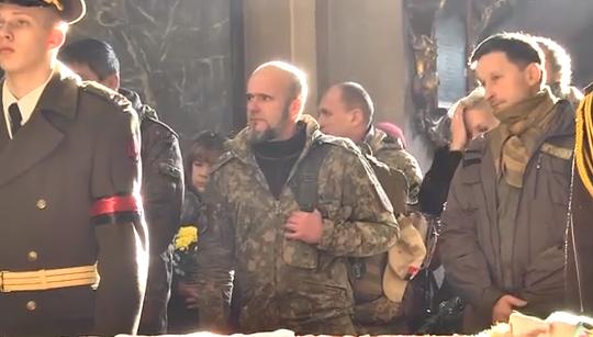 Украина простилась с казахским героем, воевавшем на Донбассе