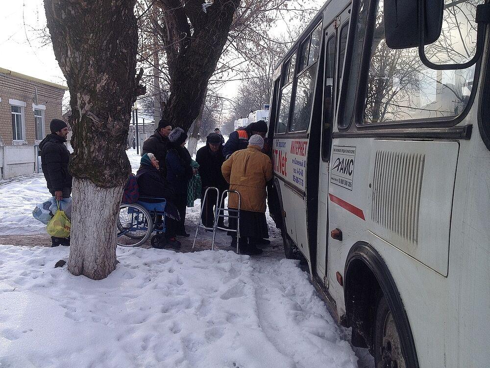 Из Авдеевки эвакуировали 132 человека