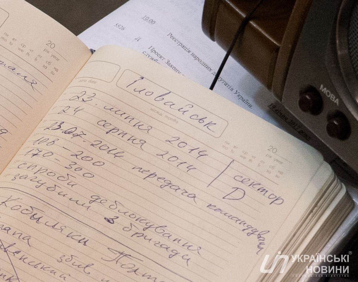 Тайны и наработки: СМИ опубликовали рабочий дневник Савченко