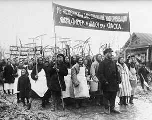 С коммунизмом на рогах