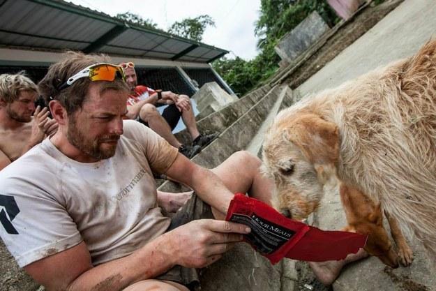 Спортсмены не подозревали к чему приведет встреча с собакой