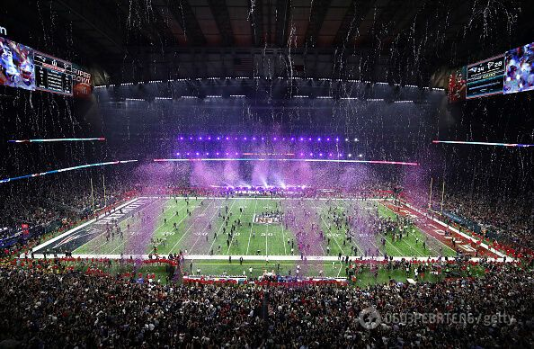 В США с шиком прошло самое грандиозное футбольное шоу планеты