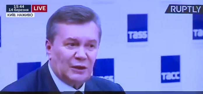 Луценко наочно показав, як Росія забрехалась про прохання Януковича ввести війська