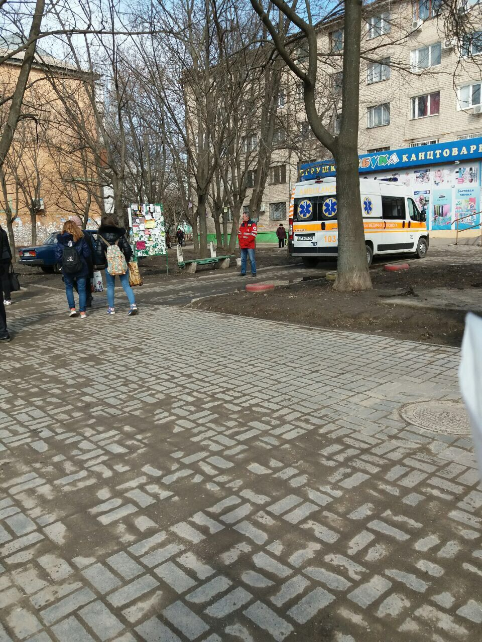 В Запорожье грузовой автомобиль сбил пожилую женщину (ФОТО)