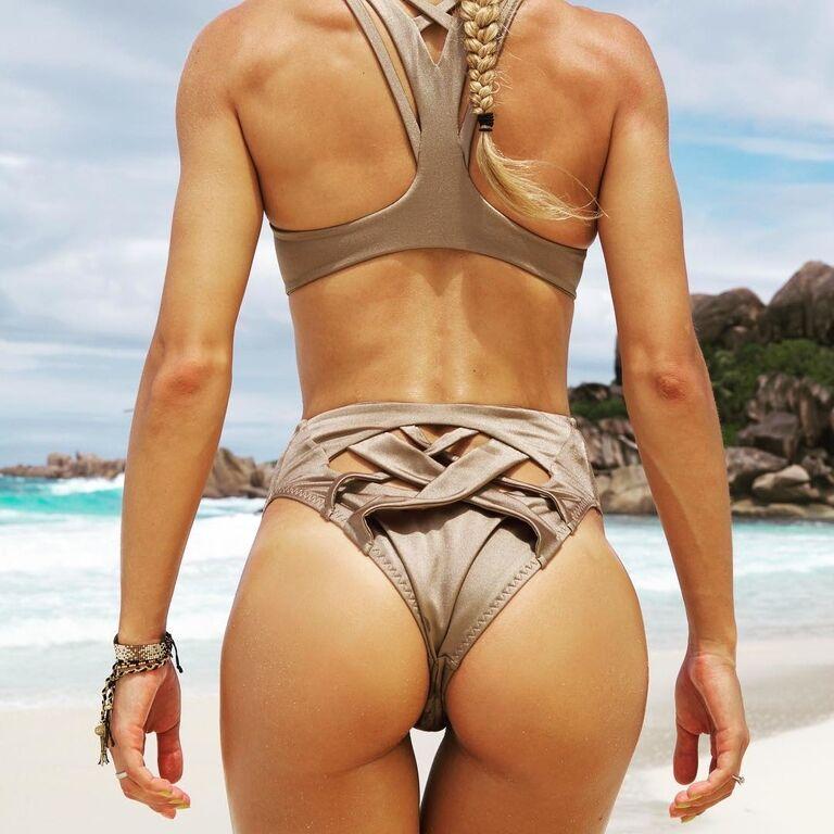Известная фитнес-тренер одним фото развенчала самый стойкий миф о женском спорте