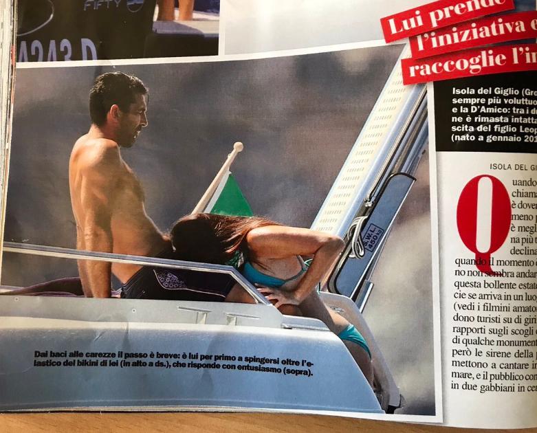 Папарацци поймали Буффона в интимной позе: в Италии разгорелся скандал