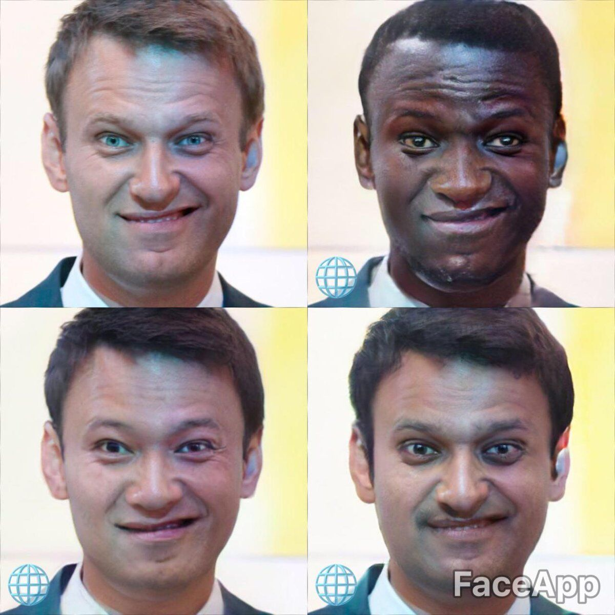 """Чорний, білий, азіат: топ-політикам України """"змінили"""" колір шкіри і це дуже смішно"""