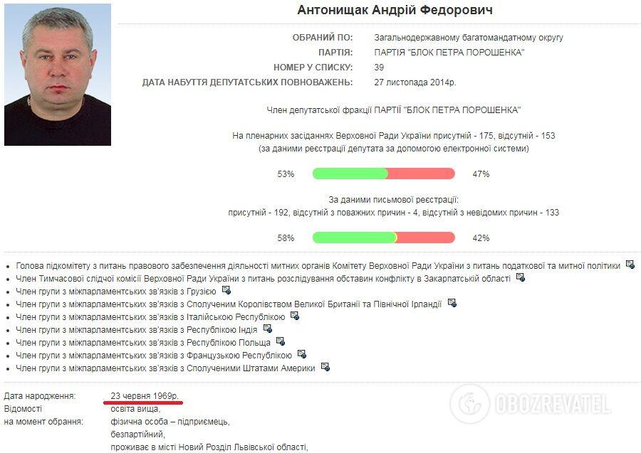 ДепутатаВР задержали нетрезвым зарулем