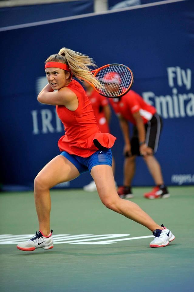 Свитолина вышла в полуфинал супертурнира в Канаде, победив в двухдневном матче