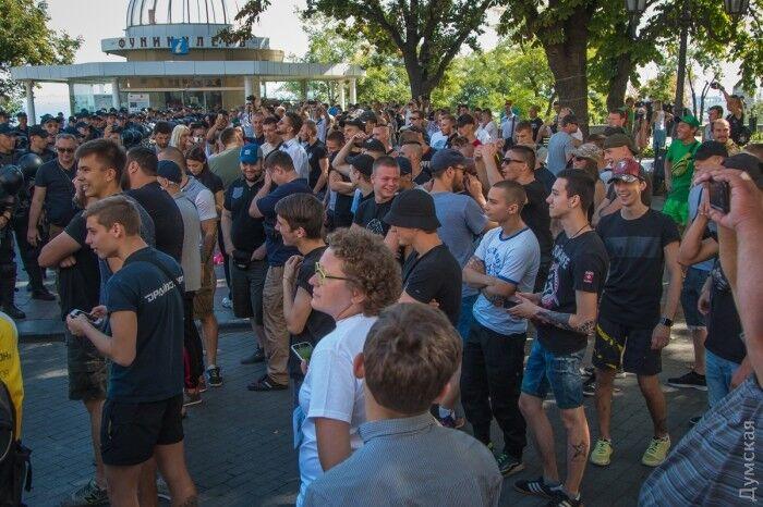 Как в Одессе прошел гей-парад: появились фото и видео