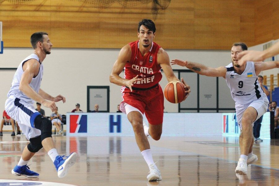 Збірна України з баскетболу програла Хорватії в товариському матчі