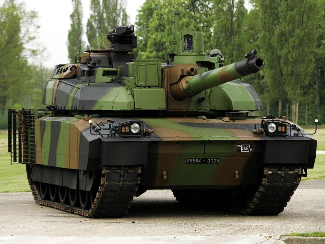 Танк AMX-56 Leclerc (Франция)
