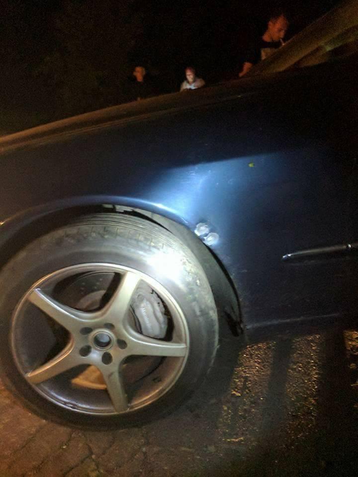 """Під Києвом напали на активіста, що виступає за легалізацію машин на """"єврономерах"""""""