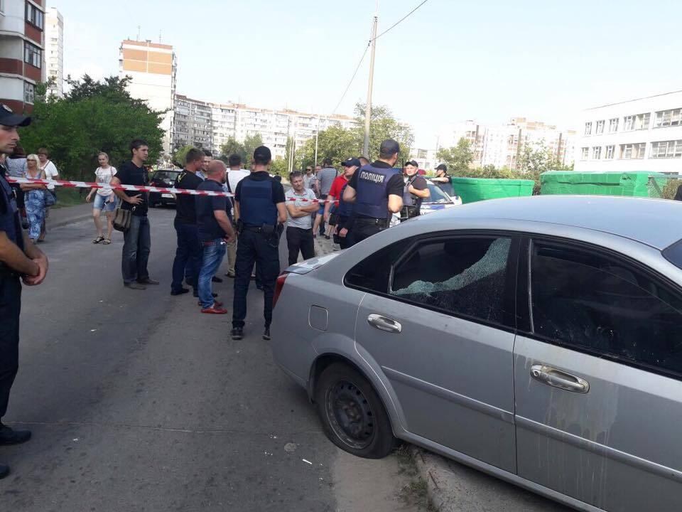 Депутат Рады Украины открыл стрельбу вКиеве