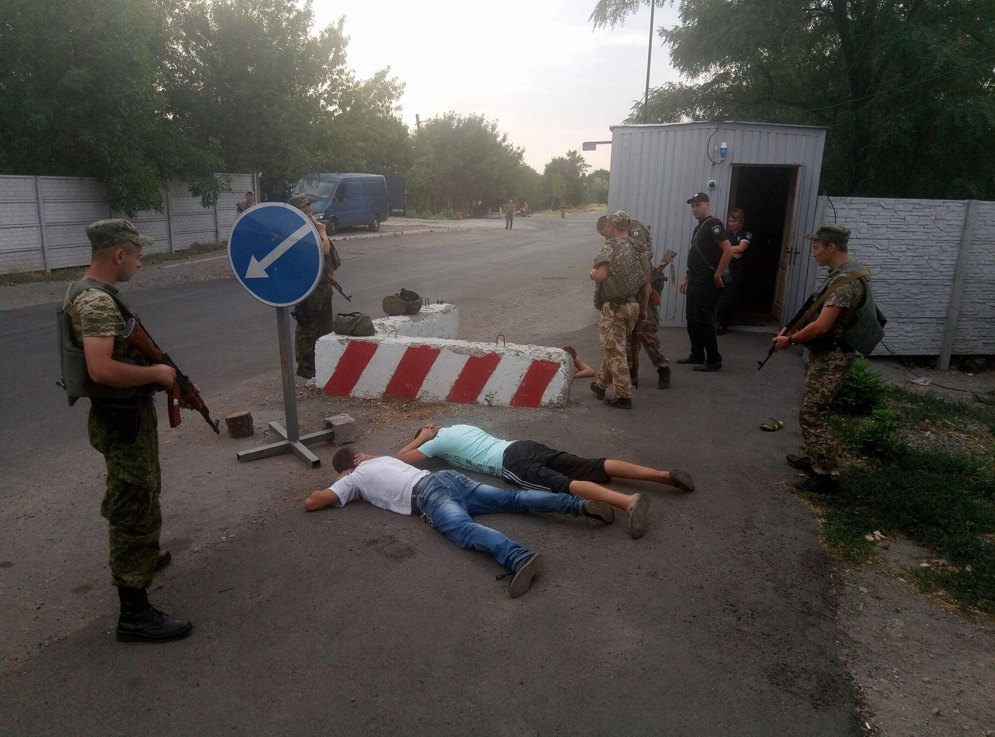 """Участников """"АТО"""" на Украине бьют за Донбасс"""