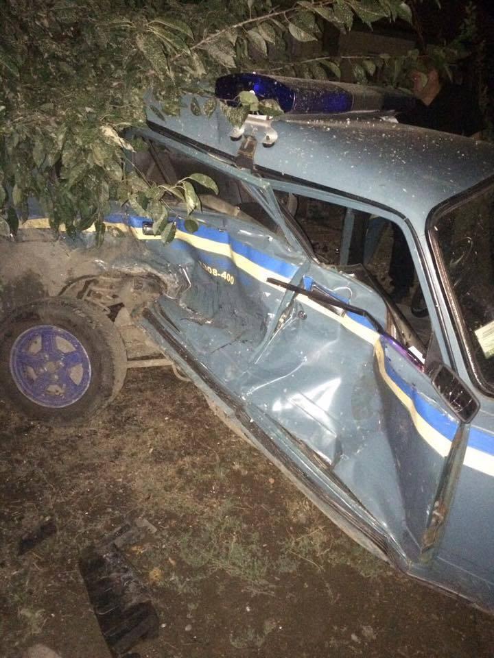 В Одесской области произошло пьяное ДТП с участием полиции