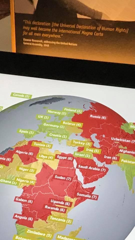Карта Freedom House
