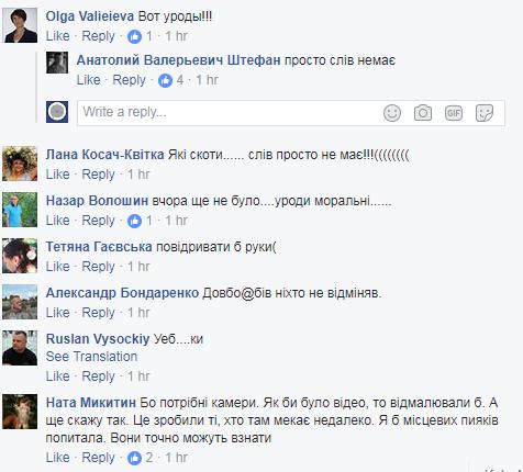 """Все разрушим сами: офицер показал, как """"враги"""" уродуют Киев"""