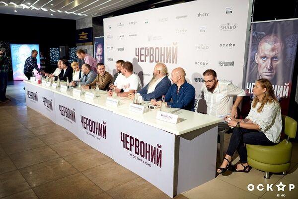 Украинский фильм «Червоний» запервый уикенд собрал практически 1,5 млн грн