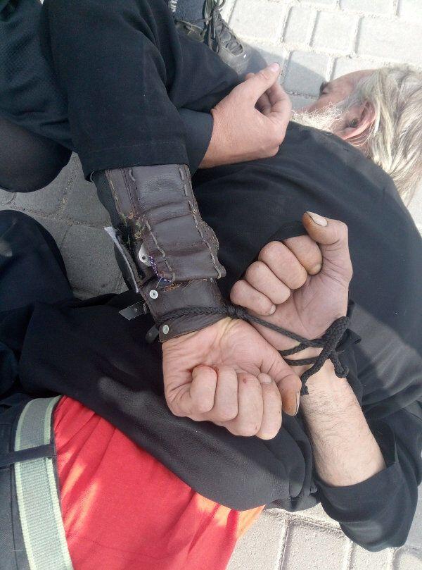 На Кировоградщине мужчина пытался принести себя в жертву богу на городской площади