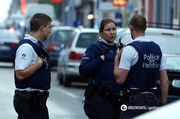 Погоня вБрюсселе: водитель заявил обомбе вмашине class=