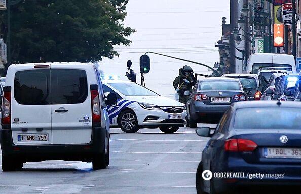 Погоня вБрюсселе: водитель заявил обомбе вмашине