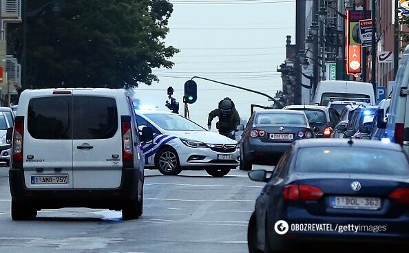 Искали взрывчатку: в Брюсселе полиция со стрельбой остановила подозрительное авто