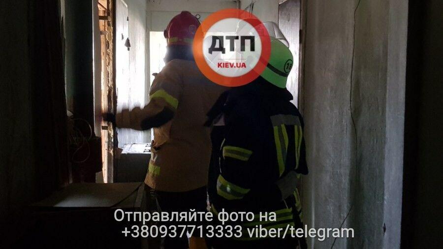 В Киеве случился ужасный пожар: погиб ребенок