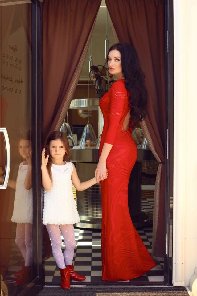 Наталья с дочерью