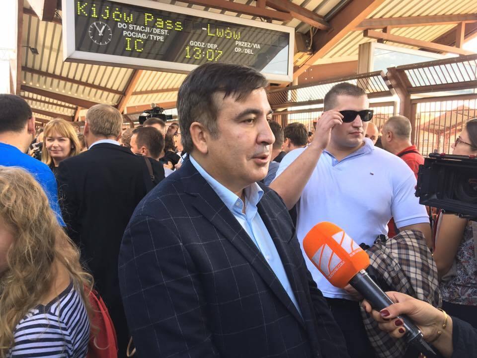 Саакашвілі прорвався в Україну: всі подробиці онлайн
