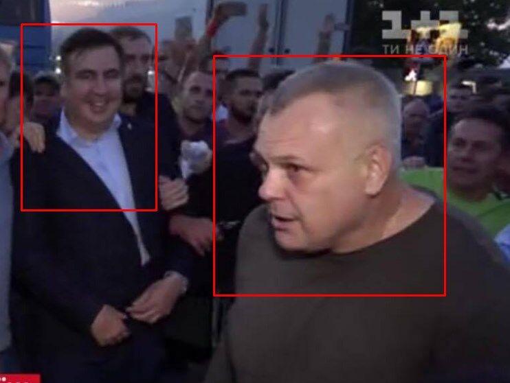 Алексей Цыбко и Михеил Саакашвили