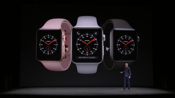 Состоялась презентация новых Apple Watch