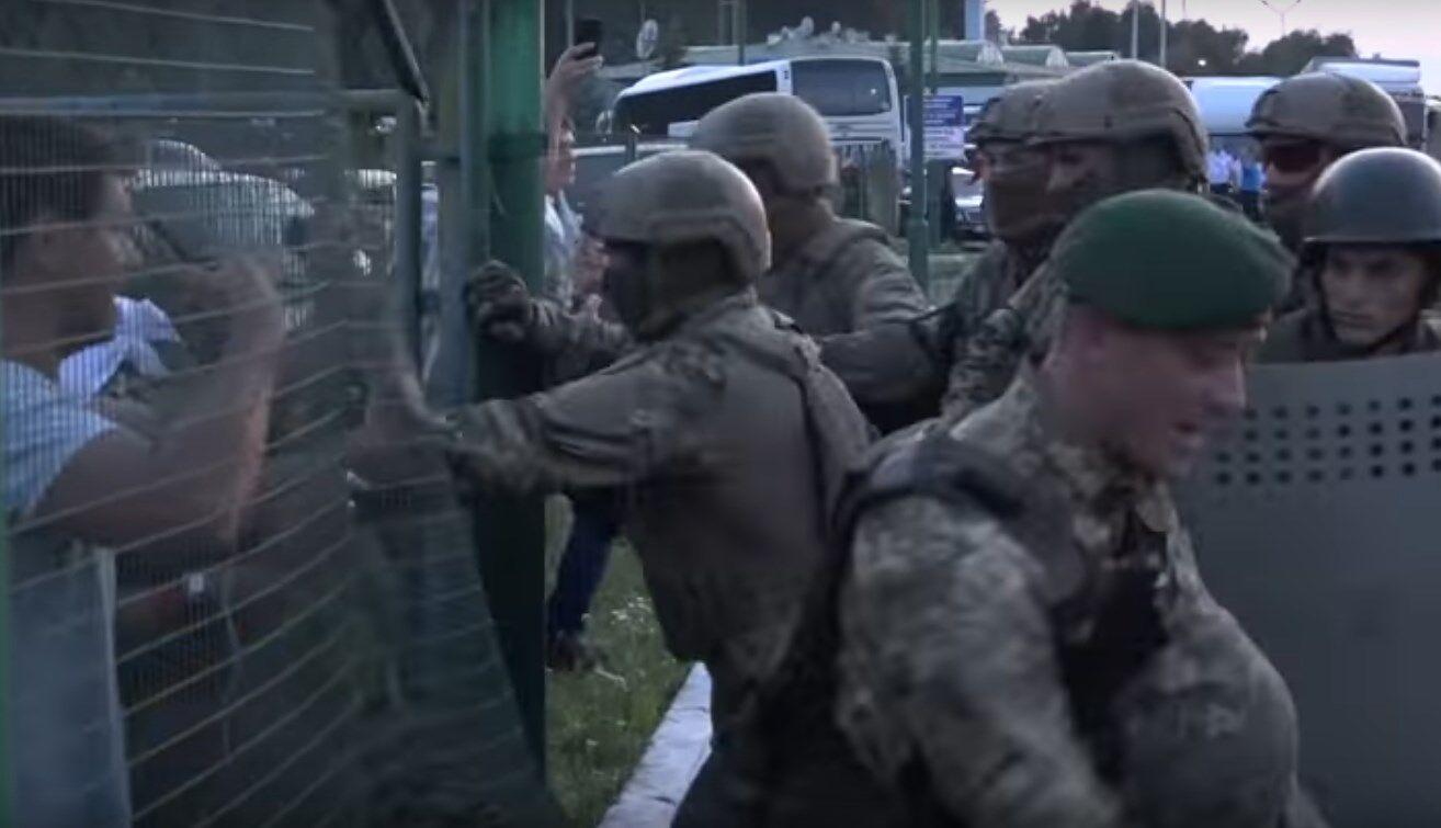 ЧП на польско-украинской границе - 10 сентября 2017 г.