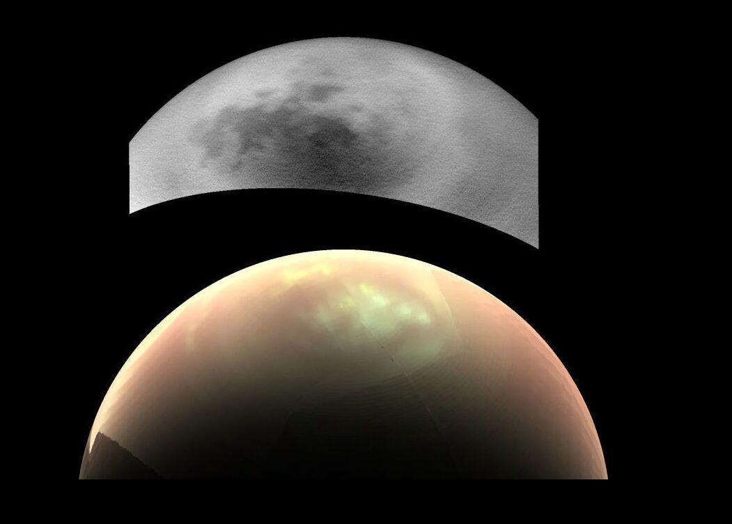 Хмари в північній півкулі Титана