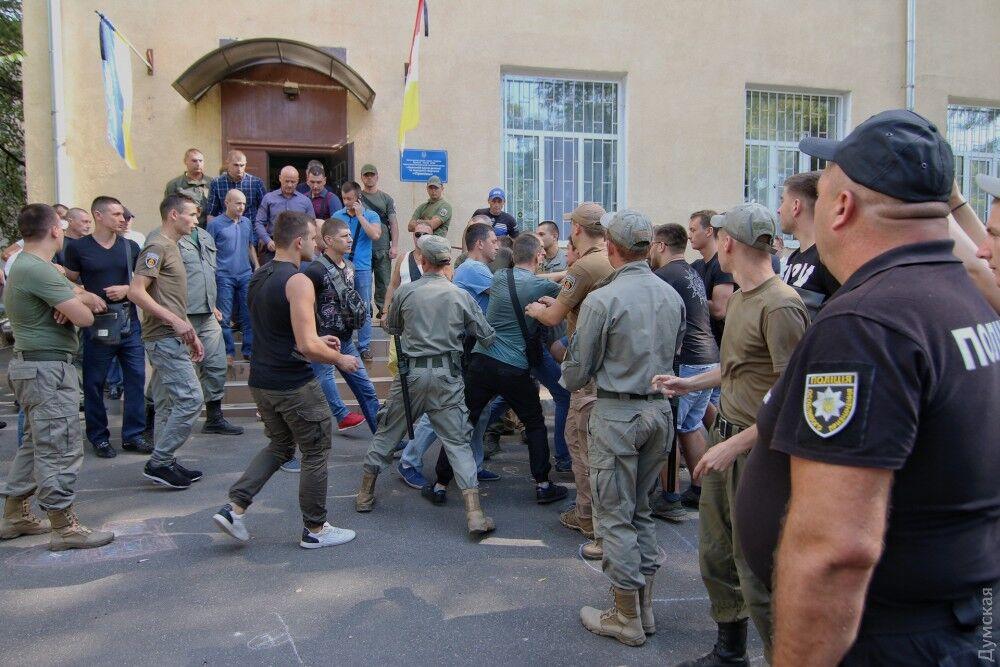 Бійка в Одесі